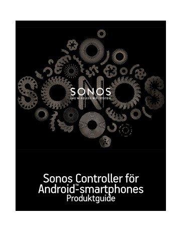 Sonos Controller för Android ™ - smartphones - Almando
