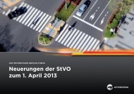 Neuerungen der StVO zum 1. April 2013 - MotorVision