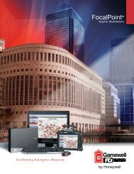 FocalPoint® graphic workstations - Gamewell-FCI