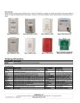 InnovairFlex™ Series D4120 Duct Smoke Detector - Gamewell-FCI - Page 4