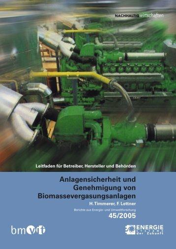 Anlagensicherheit und Genehmigung von - NachhaltigWirtschaften.at