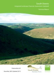 Technical Document - South Downs National Park Authority
