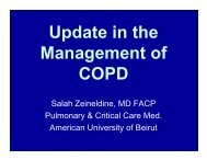 Update in the Management of COPD