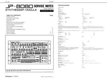 JP-8080 - Fdiskc