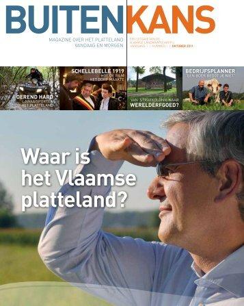 Waar is het Vlaamse platteland? - Vlaamse Landmaatschappij