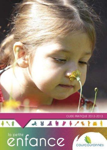 Guide de la Petite Enfance 2012/2013 - Courcouronnes
