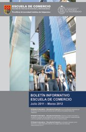 BOLETÍN INFORMATIVO ESCUELA DE COMERCIO - Altavoz