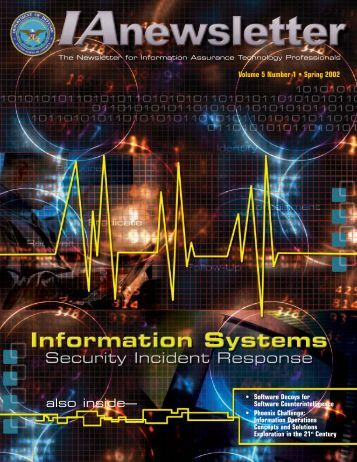 Vol 5 No 1 - IAC - Defense Technical Information Center