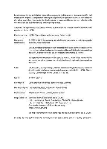 redlist sp cov - IUCN