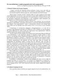Per una definizione e analisi pragmatica dei ... - Adrianocolombo.it
