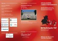 DÜSSELDORFER CARDIO SYMPOSIUM2013 - pci.info
