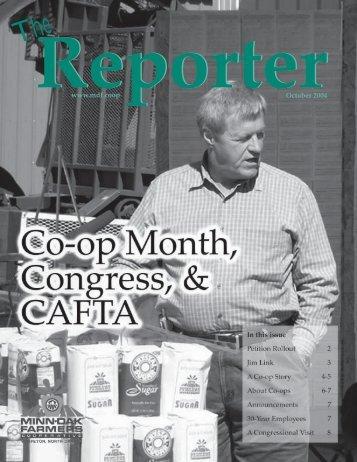 Reporter - Minn-Dak Farmers Cooperative