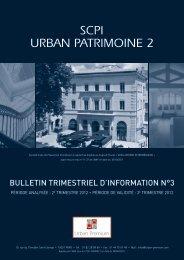BULLETIN TRIMESTRIEL D'INFORMATION N°3 - Haussmann ...
