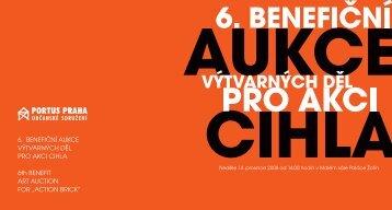6. benefiční aukce výtvarných děl pro akci cihla - Aukční síň Vltavín
