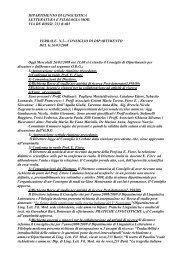 26-03-2008 - Dipartimento di Linguistica Letteratura e Filologia ...