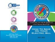 How To Save on Your Electric Bill (PDF) - Utilities Commission, City ...