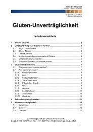 Gluten-Unverträglichkeit - Team Dr. Klinghardt