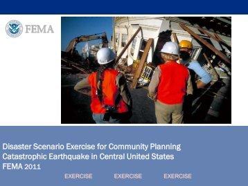 Tabletop Presentation - Federal Emergency Management Agency