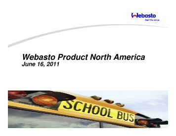 Webasto Bus and Truck Heaters Presentation - Granite State Clean ...