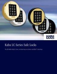 Kaba LC Series Safe Locks - Manton Security Ltd