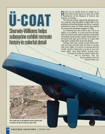 U 505 - Protective Coatings, Protective & Marine Coating – Sherwin ...