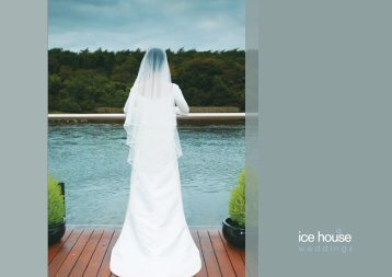Click here to view our Wedding Brochure - Ice House