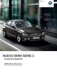 NUEVO BMW SERIE 