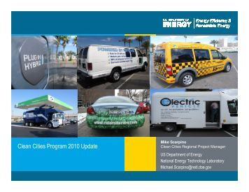 Mike Scarpino Clean Cities Program 2010 Update - Granite State ...