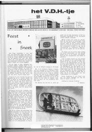 Sneek opening 11 juni 1964 - Van der Heem & Bloemsma