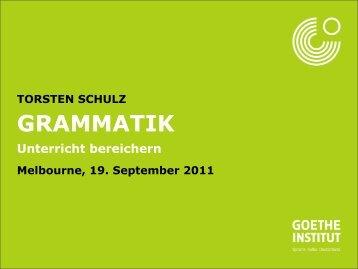 GRAMMATIK - PDeutsch