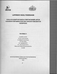 LAPORAN HASIL PEKERJAAN - KM Ristek - Kementerian Riset dan ...