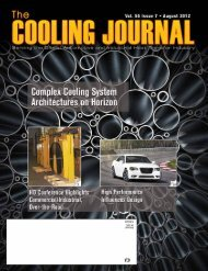 The Cooling Journal – August 2012 - Narsa