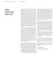Liebe Leserinnen und Leser - DGSP