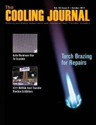 October 2011 Cooling Journal - Narsa