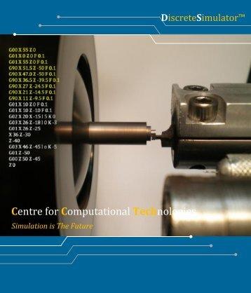 Discrete Simulator Brochure - CCTech