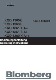 Blomberg KQD1360XA Amerikaanse koelkast - Wehkamp.nl
