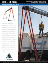 The Flexible Lifeline Systems Mobile A-Frame System (MAFS) al ...