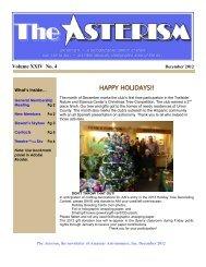 Dec 2012 - Amateur Astronomers, Inc.