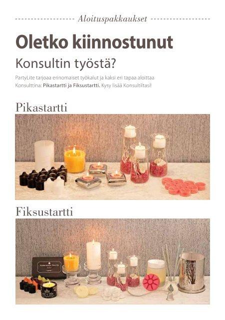 Asiakkaille & Emännille/Isännille - PartyLite