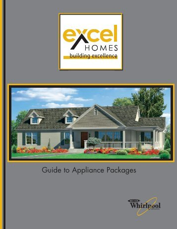 Guide to Appliance Packages - Excel Homes