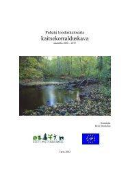 kaitsekorralduskava - Keskkonnaamet