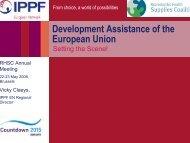 Development Assistance of the European Union - Reproductive ...