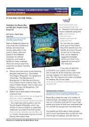 Marcus Sedgwick Resources - pdf - Scottish Book Trust