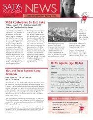 Spring 2004 - SADS Foundation