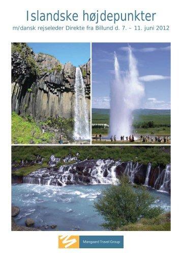 120607 islandske højdepunkter.indd - Mangaard Travel Group