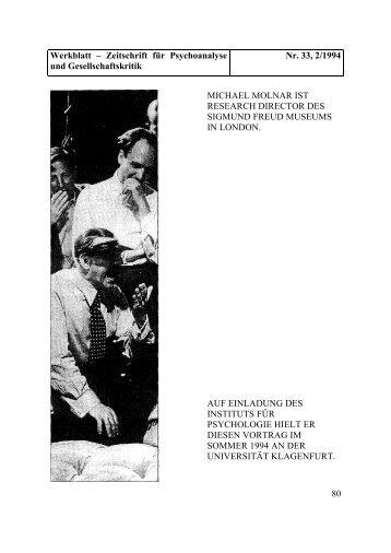 Familie Freud und ihre Hunde - Werkblatt