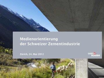 Download Referat - Schweizer Zement