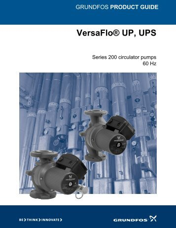 VersaFlo UPS Product Guide (PDF) - James Electric
