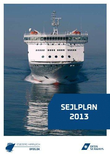 SEJLPLAN 2013 - DFDS Seaways