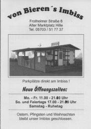 Speisekarte (PDF) - WIR in Hille